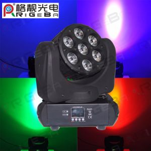 7X10W RGBW Stage LED Moving Head Beam Light pictures & photos