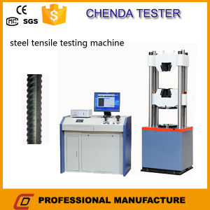 Waw-600d Computerized Hydraulic Universal Testing Machine for Anchor Tensile Strength Test pictures & photos
