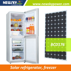 2017 Bottom Freezer DC Refrigerator Solar 12V 24V Solar Refrigerator Freezer pictures & photos