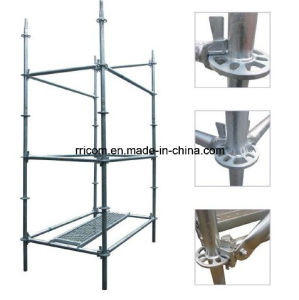 Hot DIP Galvanized Ring Lock Scaffolding System for Construction pictures & photos