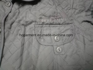 Stock Garments, Gray Long Style Women Winter Jackets pictures & photos