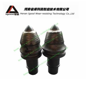 22mm Round Shank Surface Drilling Bullet Bit Auger Rock Drill Tools Rotary Rig Spare Parts pictures & photos