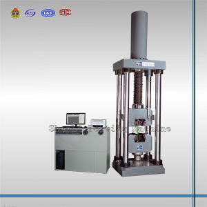 2000kn Electro-Hydraulic Servo Universal Testing Machine (Single-Testing-Space with Wedge Grip) pictures & photos