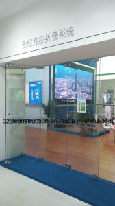 Latest Design Frameless Glass Exterior Bi Folding Door pictures & photos