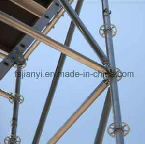 Portable Galvanized Layher Ringlock Scaffolding pictures & photos