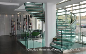 Laminated Tempered Toughened Colored Glass for Stairs pictures & photos