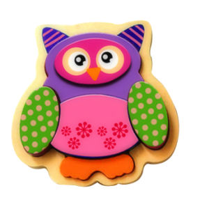Wooden Owl Puzzle Toy for Kids and Children pictures & photos