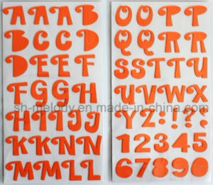 Multicolor Big Alphabets Foam Stickers for Scrapbooking and Cardmaking pictures & photos