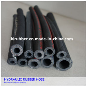 SAE 100 R1at Steel Wire Braided Rubber Hydraulic Hose pictures & photos