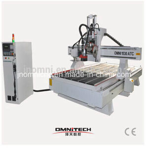 Hot Sale Wood Working CNC Router with Borning Head