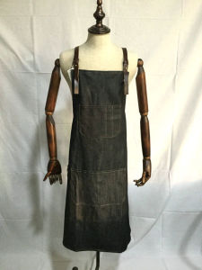 Custom Cheap Made Jean Denim Apron Wholesale pictures & photos