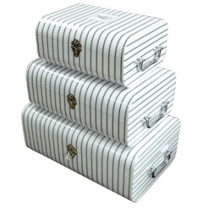 Arc-Shaped Paper Gift Boxes Set with Handles (XG-GB-132)