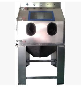 Stainless Steel Wet Sandblasting Machine pictures & photos