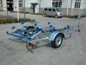 Galvanized Boat Trailer with Rollers Tr0218 pictures & photos