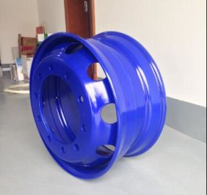 Tubeless Steel Wheel and Wheel Rims (22.5*11.75) pictures & photos