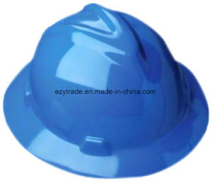Protective-Helmet-Safety-Hat-Full-Brim-Yellow-for-Head-Eye-AMP-Face-Protection Protective pictures & photos