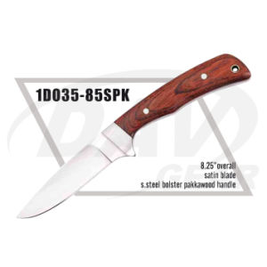 "8.25"" Overall Pakkawood Handle Dagger with Satin Blade: 1do35-85spk pictures & photos"