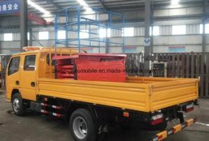 Dongfeng 4*2 Double Cab Scissor High-Altitude Working Truck pictures & photos