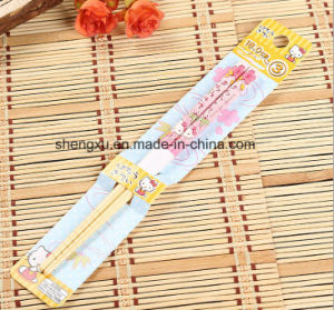 Childrens′ Chinese Wood Bamboo 18cm Length Chopsticks Sx-A6741 pictures & photos