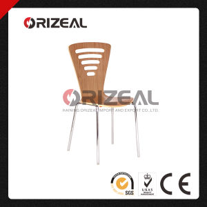 Plywood Stacking Chair Manufacturer Oz-1049 pictures & photos