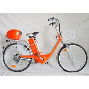 26 Inch Electric Aluminum Alloy City Bicycle, Steel Bicycle