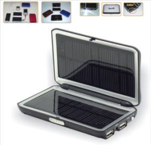 Solar Mobile Phone Charger With LED Light