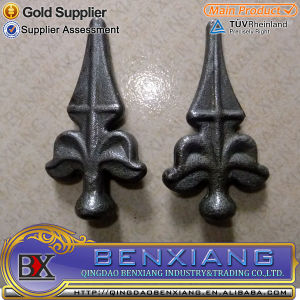 Ornamental Wrought Iron Spears& Finials for Gate pictures & photos
