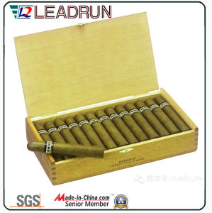 Cigar Cigarette Wooden Gift Case Souvenir Box with EVA Blister Foam Insert (YL20) pictures & photos