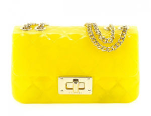 Women Lady Yellow Jelly Crossbody Shoulder Chain Handbags (LDO-16089) pictures & photos