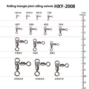 Fishing Triangle Joint Rolling Swivels pictures & photos