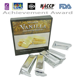 240g Vanilla Cream Filled Wafer in Paper Box