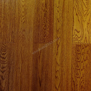 Wood Flooring Solid Oak Hardwood Flooring with Wheat Color pictures & photos