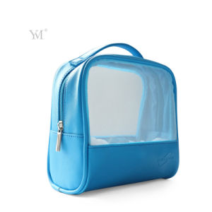 Hot Selling Good Quality Mesh Cosmetic Bag with Handle pictures & photos