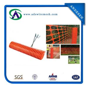 Orange HDPE Plastic Safety Wire Mesh Fence pictures & photos