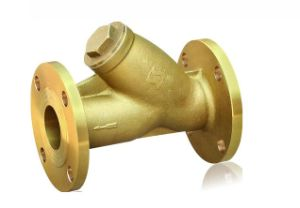 Forging Brass Water Y Strainer Valve pictures & photos