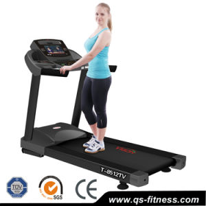New Gym Fitness Motorized Commercial Electric Treadmill (9512TV)