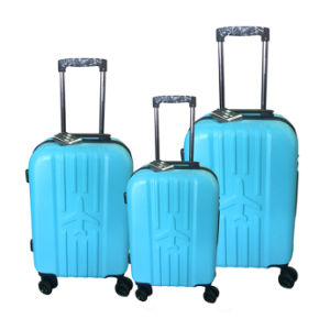 Fashion ABS Luggage Set with Small Order Accpeted pictures & photos