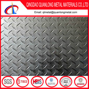 SUS310S 5 Bar Stainless Checkered Plate Prices pictures & photos