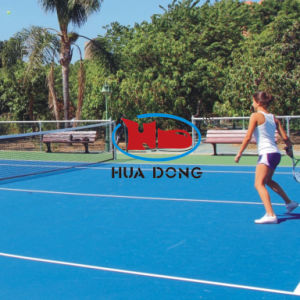 Training Equipment Recycled Materials Tennis Court Sports Flooring pictures & photos
