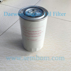 High Performance Engine Oil Filter for Daewoo/Doosan Excavator/Loader/Bulldozer