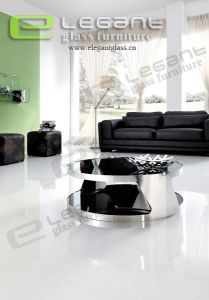 Glass Top Round Coffee Table -CA207 pictures & photos