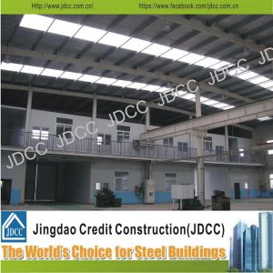 High Quality Wide Span Galvanization Light Steel Structure Workshop pictures & photos