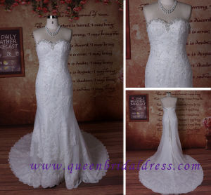 Gorgeous Sweetheart Neckling, Mermaid Wedding Dress, Lace Bridal Dress