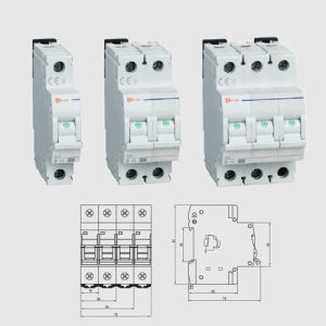 High Quality Hcb-Res Type MCB Mini Circuit Breaker pictures & photos