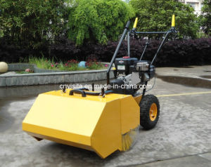 "31"" Walk Behind Sweeper Self Propelled Power Brush Broom Industrial Gas Engine pictures & photos"