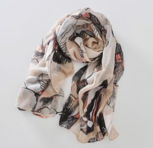 Good Quality Popular Scarves Cotton Scarves