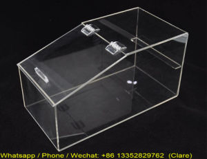 Custom Made Clear Perspex Candy Storage Case pictures & photos