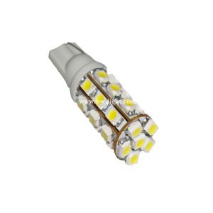 T10 Car LED Lamp Bulb (T10-WG-027Z3528) pictures & photos