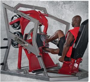 Fitness Equipment Body Building Plate Loaded Leg Press