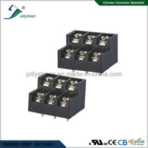 pH8.50mm Barrier Terminal Blocks  6pin Straight Step Type pictures & photos